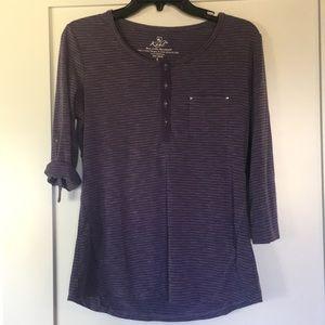 Kühl Purple 3/4 Sleeve Top - Small